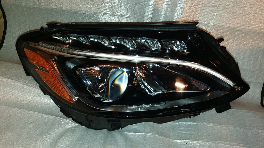 W205 Headlight Upgrade