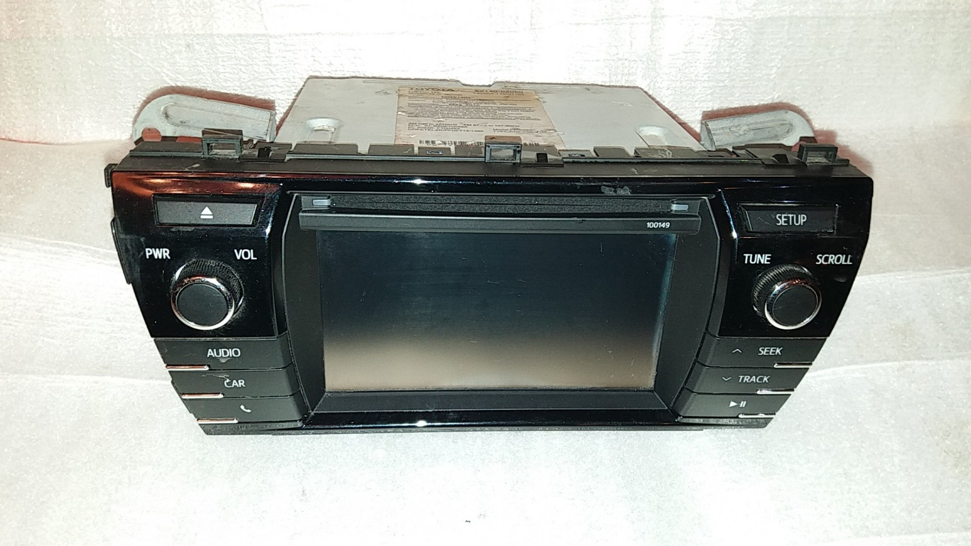 TOYOTA COROLLA RADIO CD RECEIVER DISPLAY 2014-2016 86140