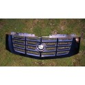 CADILLAC ESCALADE CHROME GRILLE BLACK 2007-2013 OEM