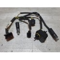 VOLVO XC90 LEFT XENON AFS HEADLIGHT WIRING HARNESS AND LEVELING MOTOR 2007-2014 30784145 31217051