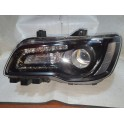 CHRYSLER 300 LEFT LED HALOGEN BLACK HEADLIGHT 2015-2019 68269813AC 68402949AA 68269813AA